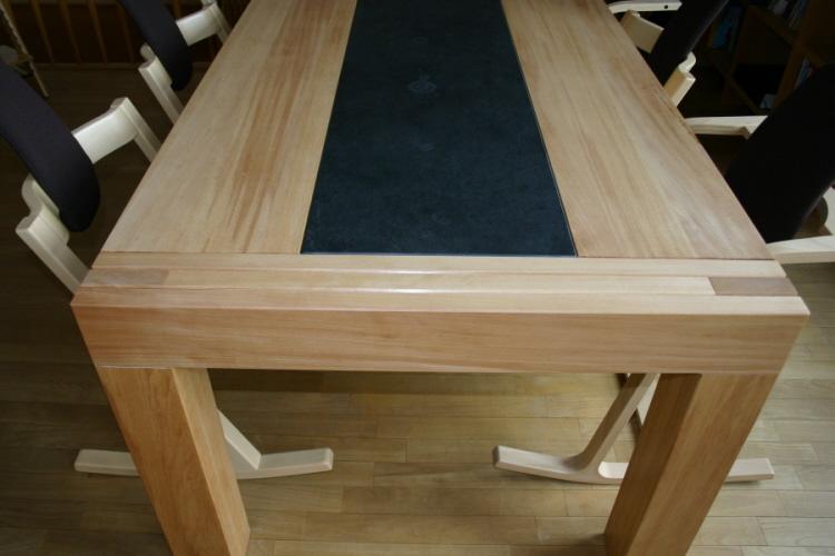 schieferplatte tisch